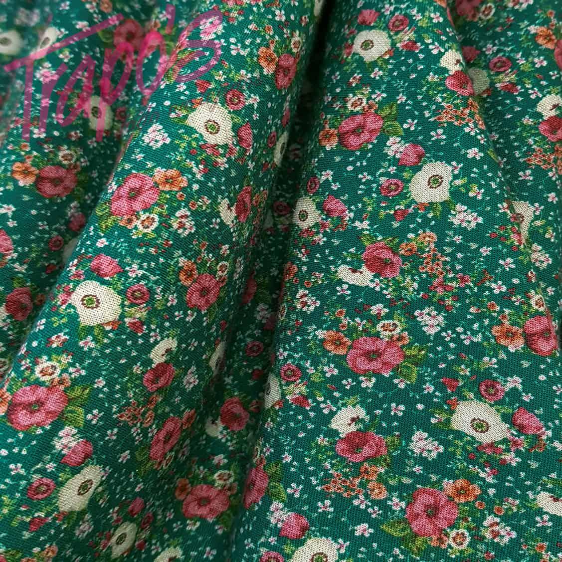 popelin-mini-flor-verde